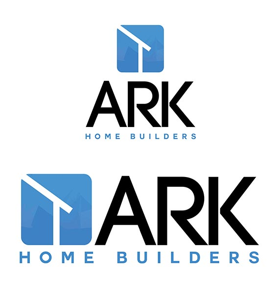 ark home builders logo