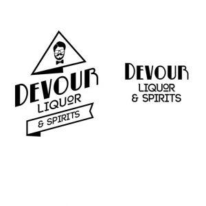 devour liquor spirits logo
