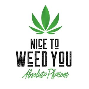 nice to weed you logo