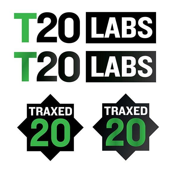 t20 labs traxed logo
