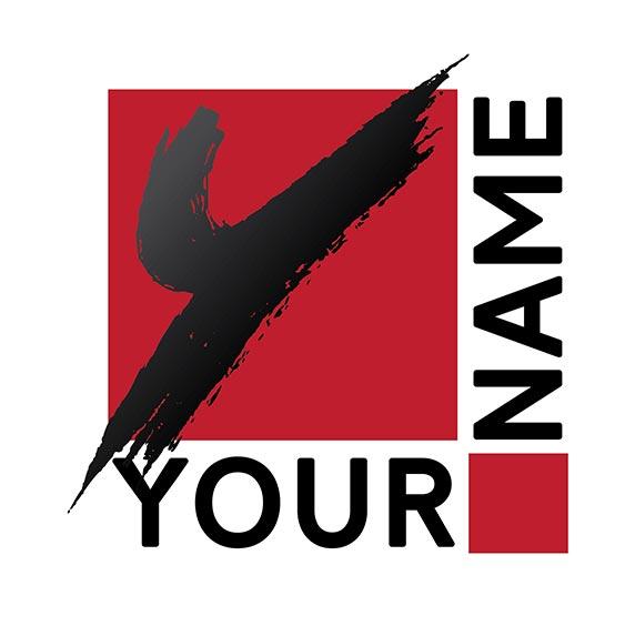 your name logo